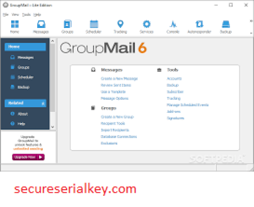 GroupMail Personal 6.0.0.62 Crack