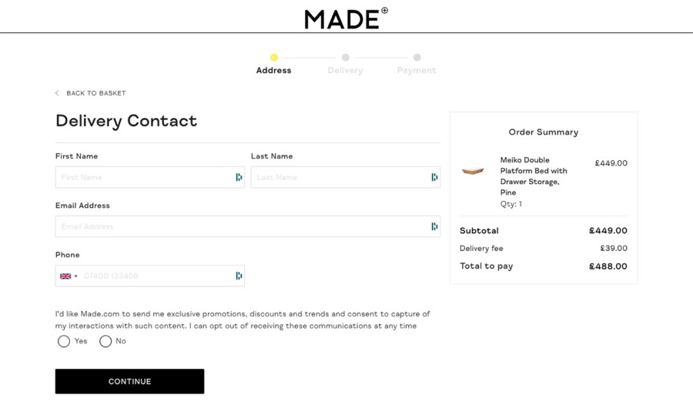Improve WooCommerce checkout with apps like Made.