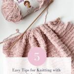 5 Easy Tips For Knitting With Velvet Yarn Whimsy North