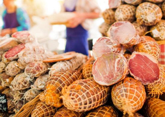 Cured meats, Aix-en-Provence