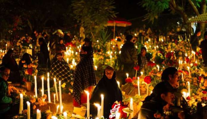 Dia de los muerto Oaxaca celebrations