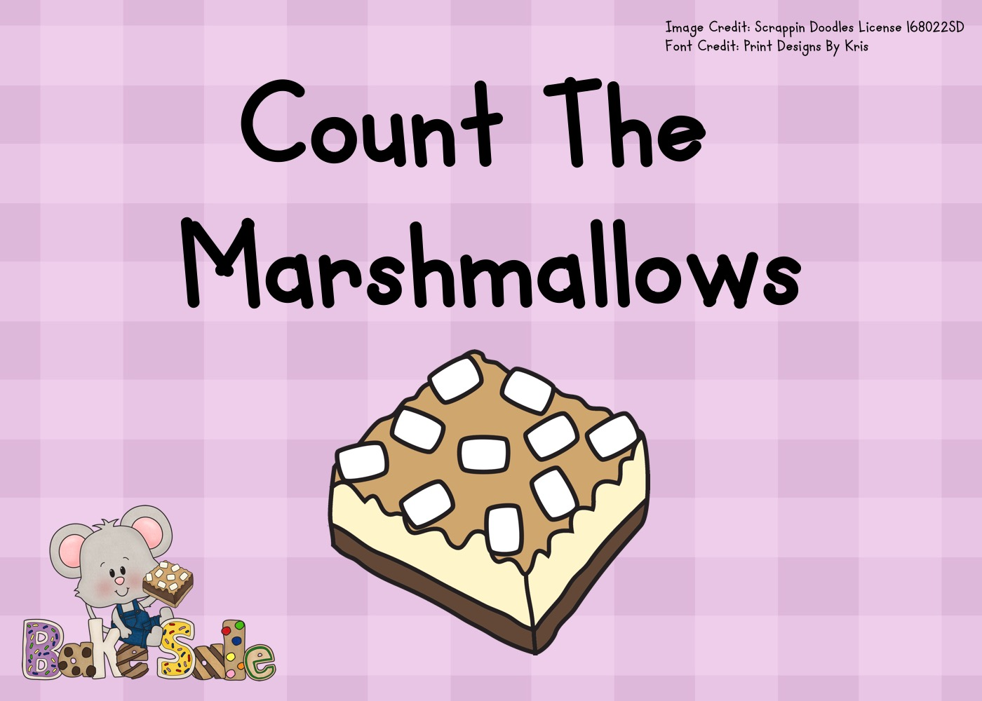 Count The Marshmallows 1 10