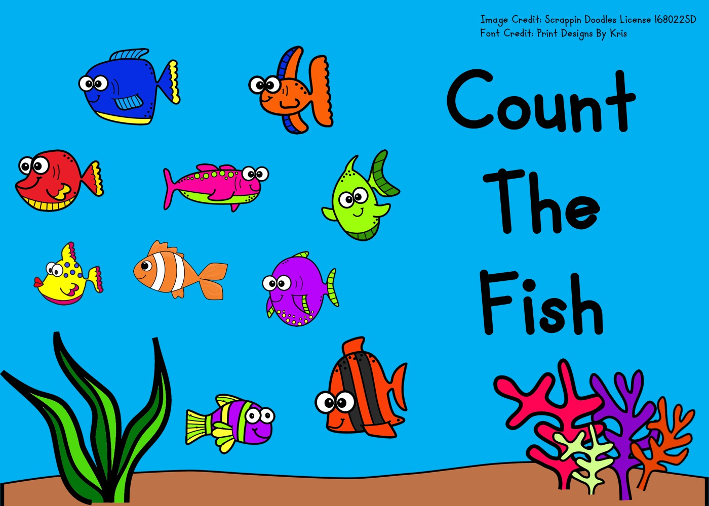 Count The Fish 1 10