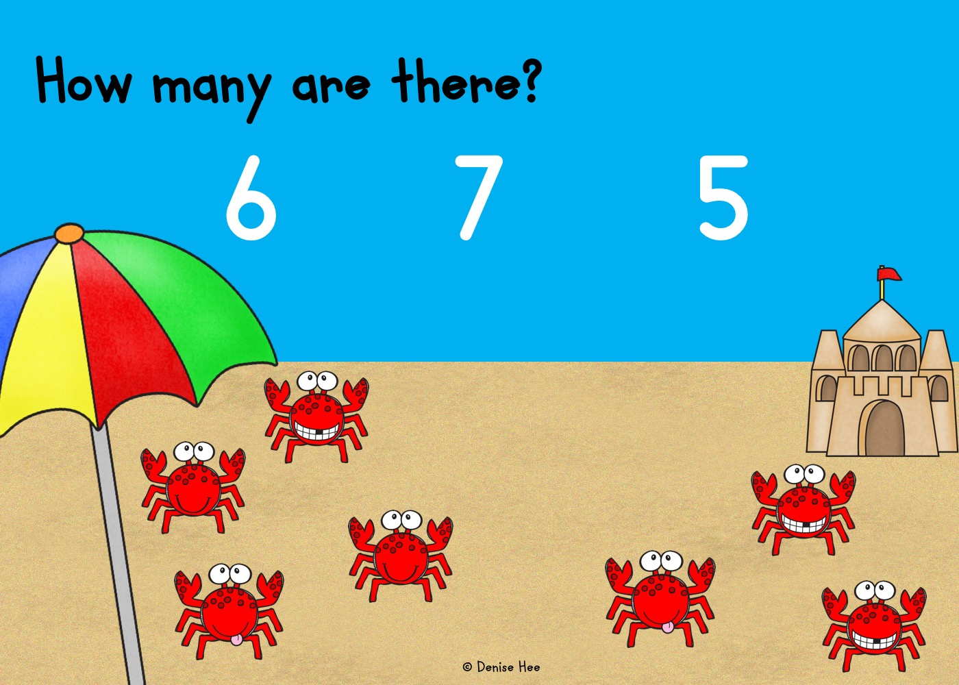 Count The Crabs 1 10