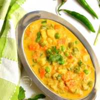 Vegetable Kurma | Hotel Style Vegetable Kurma