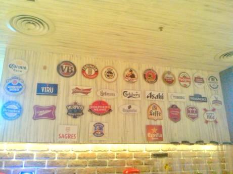 Various beer logos from brands around the world. I must say, humans take this drink very seriously.