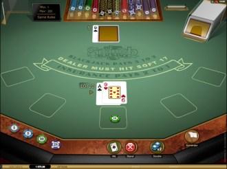 Spanish Blackjack Table
