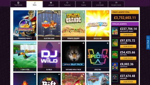 21 Bets Slot Games