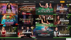 Casino Cruise Live Dealer Games