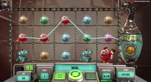 Eggomatic slot game