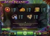 Lost Island slot game
