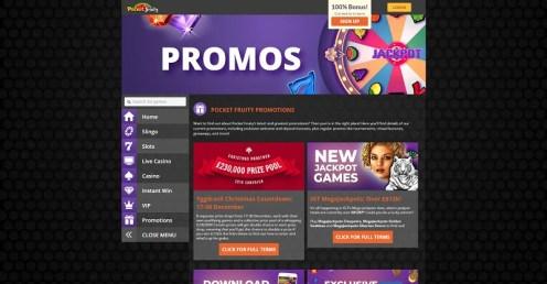 Pocket Fruity online casino