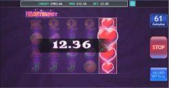 Heartburst - Wild Symbol Win