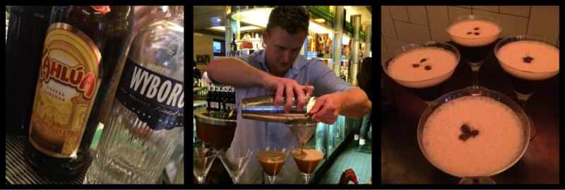 Esspresso Martinis at The Beresford