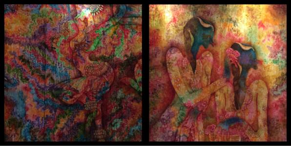 Syed Thajudeen World Art Dubai April 2015