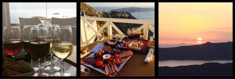 Santo Wines produce and location Thera Santorini Greece