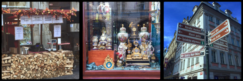 Antiques. Wenceslas Square. Prague. Czech Republic.
