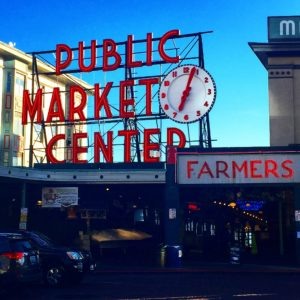 Pike Place Market. Seattle. Washington. USA