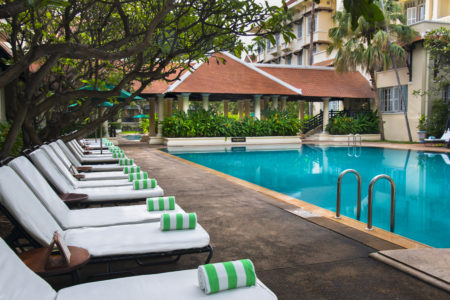 Raffles Hotel Le Royal. Phnom Penh. Cambodia.