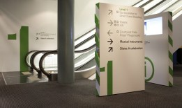 Wayfinding Wall Graphics in Westchester County
