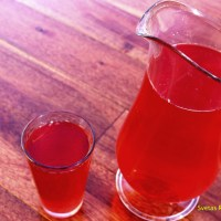 Homemade Cranberry  Juice (Kompot)