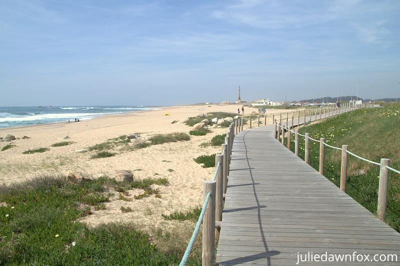 Praia da Memória, Matosinhos. Portuguese Coastal Camino de Santiago