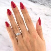 Mark Broumand 1.47ct Old European Cut Diamond Vintage Engagement Ring