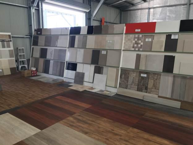 Wide range of tiles