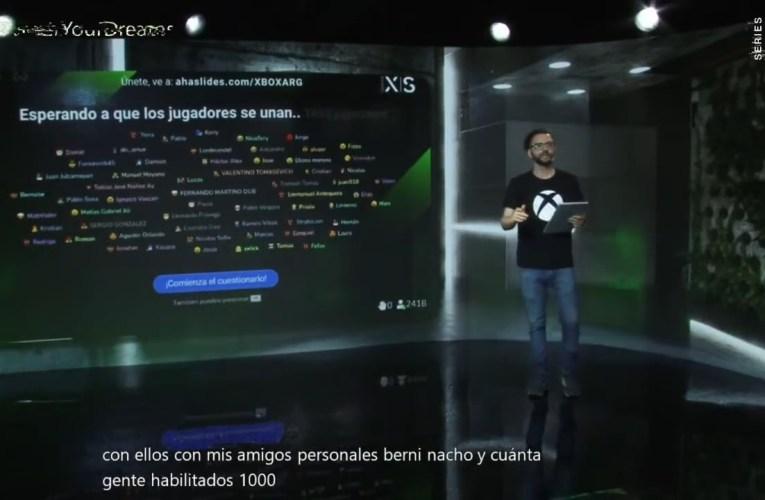 Microsoft presentó la Xbox Series X|S en Argentina
