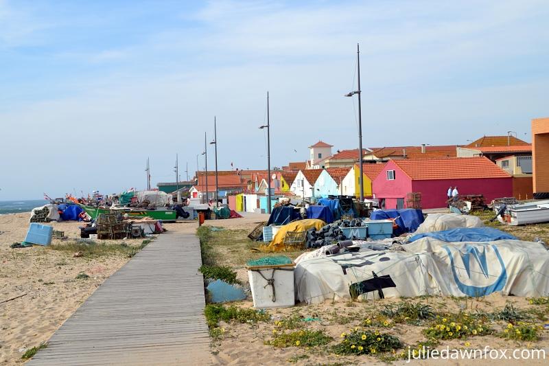 Angeiras fishing village, north of Matosinhos, Portugal
