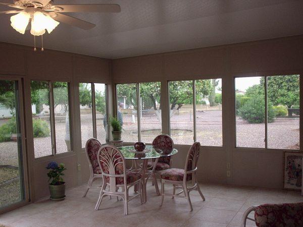 convert your patio into sunroom