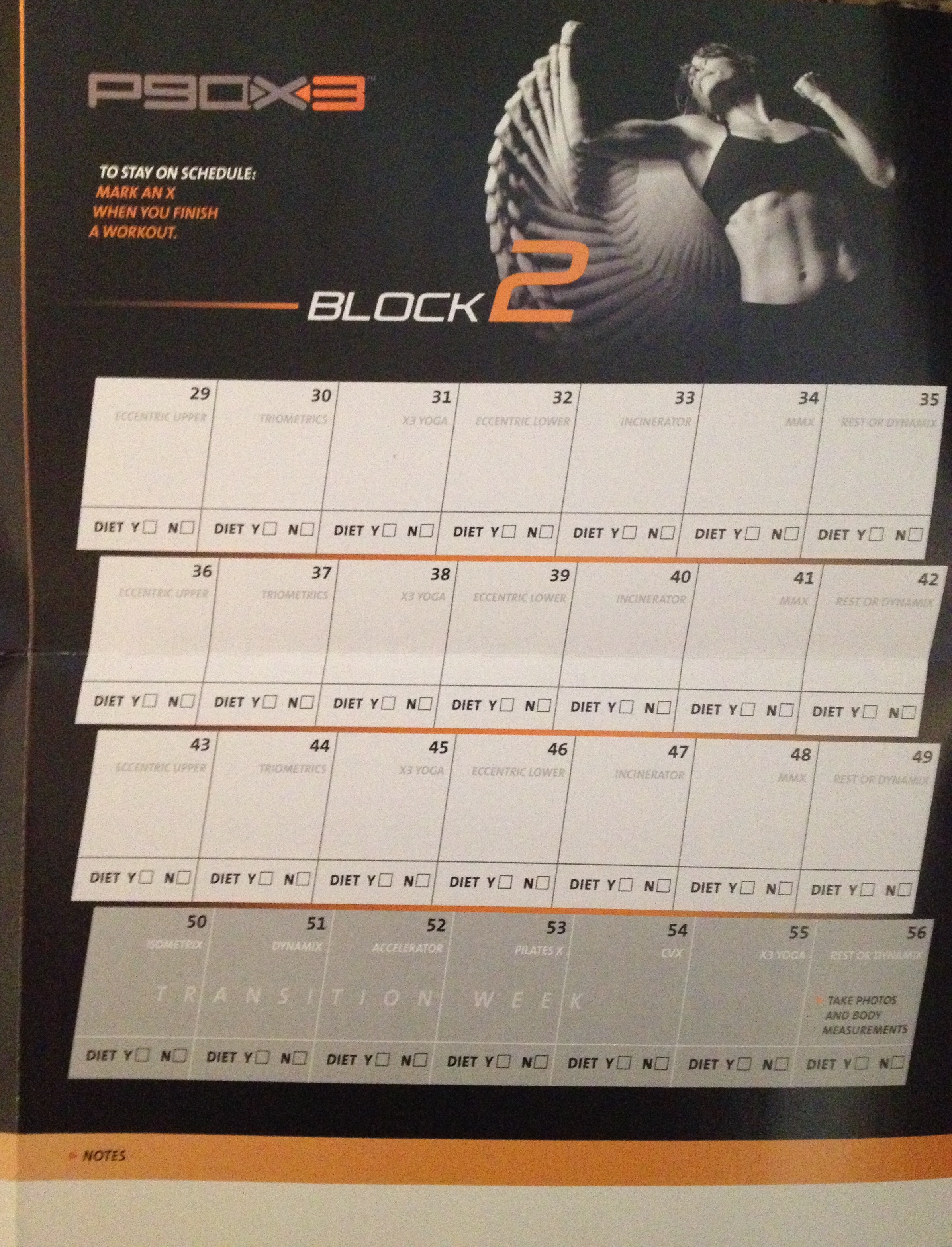 P90x3 Calendar All Details You Need About P90x3