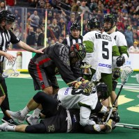 NLL: Fight night in Philly leads to Wings' win