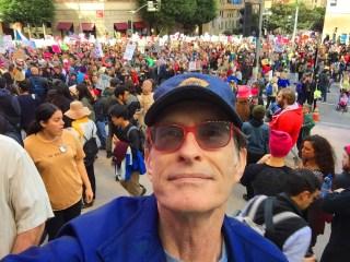 DT at Women's March LA, 21 Jan 2017, 2