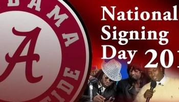 Alabama National Signing Day 2013