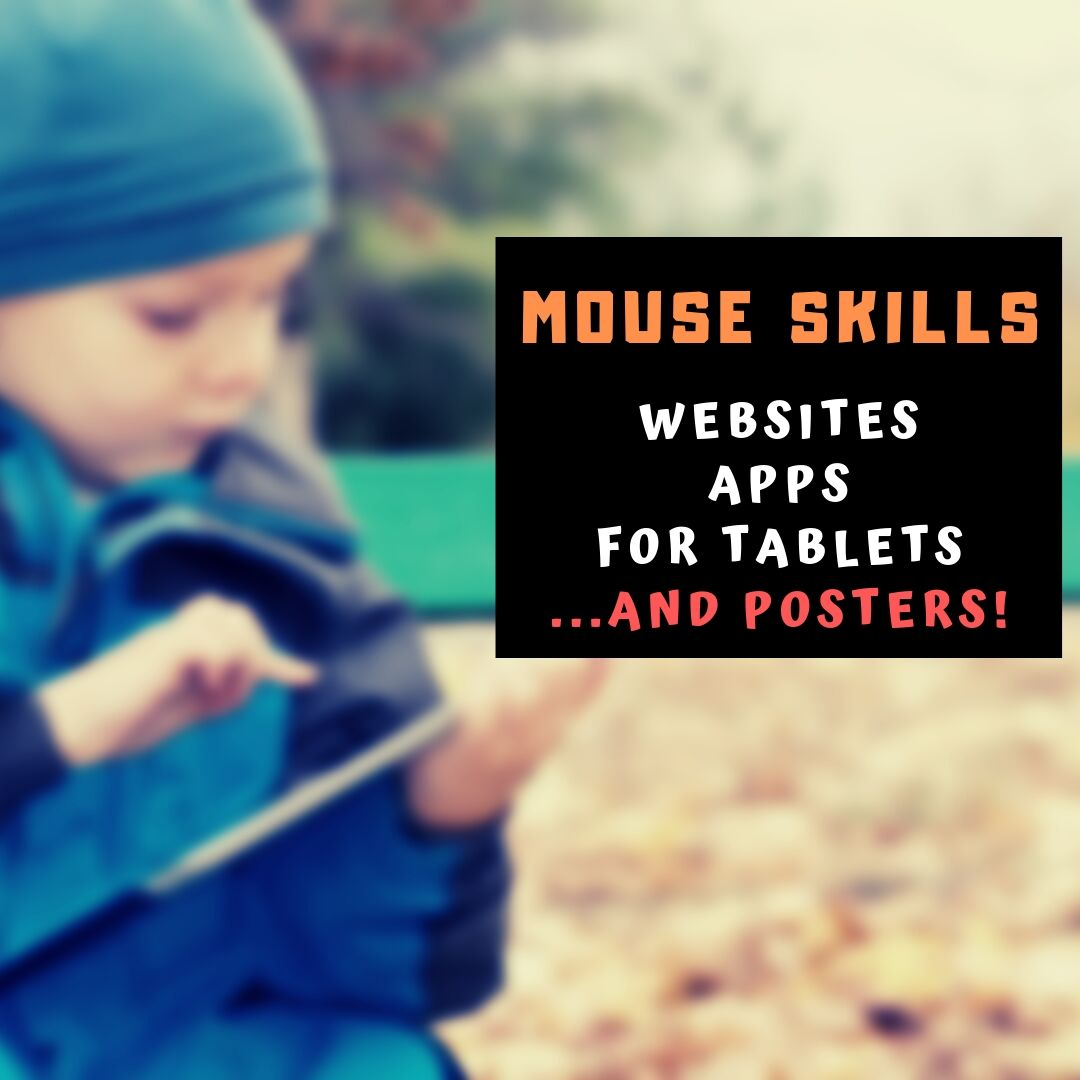 16 Websites and 5 Posters to Teach Mouse Skills