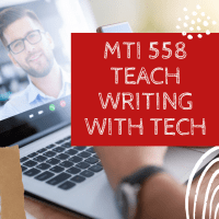 Last Chance for this College-credit Tech-for-writing Class