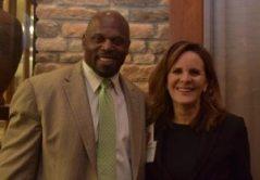 Ken Harvey, Fellows Financial Group; Allison Ryscavage, AECOM