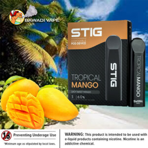 VGOD STIG DISPOSABLE POD DEVICE – TROPICAL MANGO Dubai
