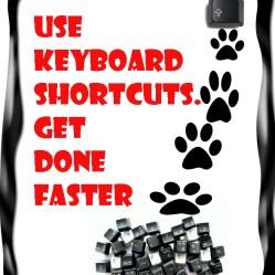 Why use shortkeys
