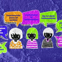 People thinking peoples talking and Speech Bubble on Cement wall Background texture