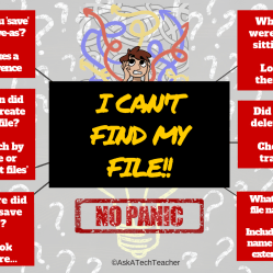 can't find my file