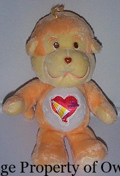 Playful Heart Monkey (UK) property thetoyarchive.com