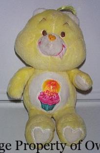 CB Birthday Bear (UK) property thetoyarchive.com