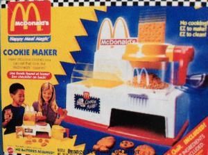 Mattell McDonald's Cookie Maker playset