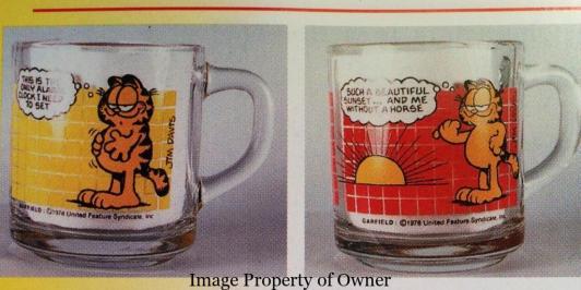 Garfield Mugs