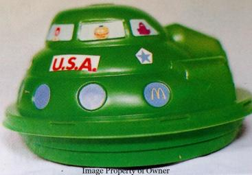 Spaceship Happy Meal