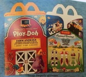 Play Doh Happy Meal
