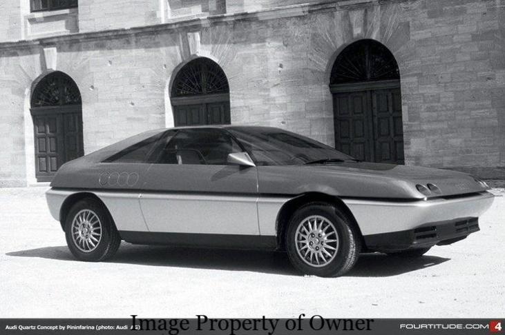 Audi Quartz- pininfarina