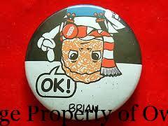 Brian Weet premium button - author unknown